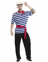 Disfraz de gondolero adulto