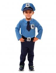 Disfraz agente de policía niño