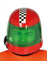 Casco piloto fórmula 1 rojo niño