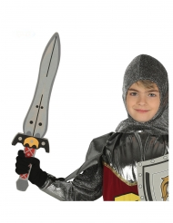 Espada caballero 53 cm niño