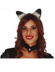 Diadema orejas de gato adulto