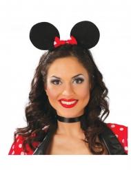 Diadema orejas de ratón mujer