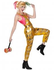 Mono con peto dorado Harley Quinn Birds of Prey™ mujer