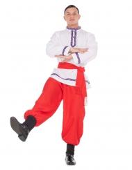 Bailaor tradicional ruso hombre