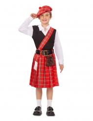 Disfraz pequeño escocés niño