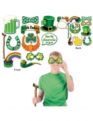 Kit photocall Saint Patrick 12 accesorios