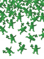 Confetis de mesa leprechaun verde 42 gr