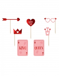 Kit photocall love is in the air 7 accesorios