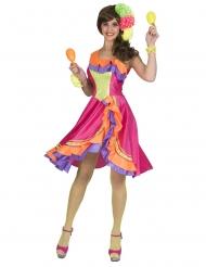 Disfraz vestido bailaora rumba mujer
