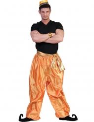 Pantalón dorado bailarín hombre