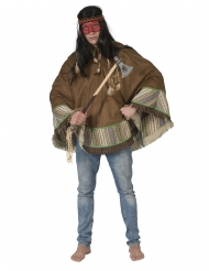 Poncho india lujo adulto