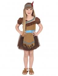 Disfraz india elegante niña