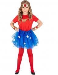 Disfraz superhéroe niña