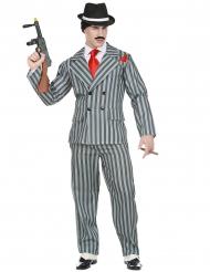 Disfraz gangster New York hombre