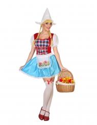Disfraz de holandesa mujer