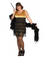Disfraz de años 30 talla grande mujer