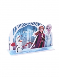 Decoración para tarta pop up Frozen 2™ 15 x 8.5 cm