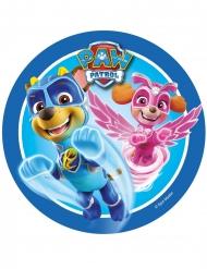 Disco de azúcar Paw Patrol™ azul 21 cm