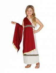 Disfraz princesa romana niña