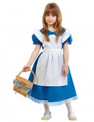 Disfraz princesa maravillosa niña
