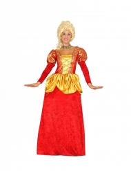 Disfraz de condesa del renacimiento mujer