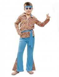 Disfraz hippie psicodélico niño