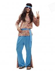 Dsifraz de hippie psicodelic hombre