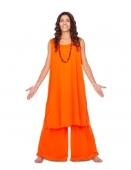 Disfraz discípulo naranja mujer