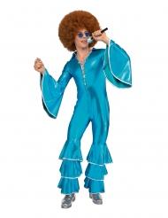Disfraz fiebre sábado en la noche azul hombre