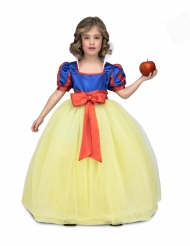 Disfraz princesa de baile amarillo azul niña