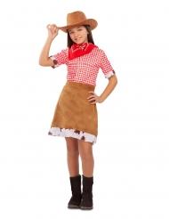 Disfraz cowgirl del Oeste niña