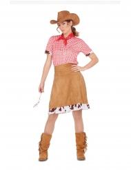 Disfraz vaquera del Oeste para mujer