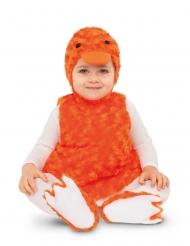 Dsifraz patito peluche naranja