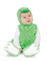 Disfraz patito peluche verde