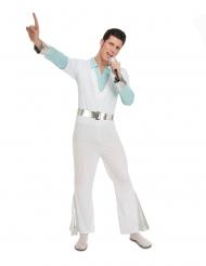 Disfraz fiebre sábado noche blanco hombre