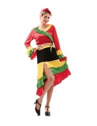 Disfraz de bailaora de rumba mujer