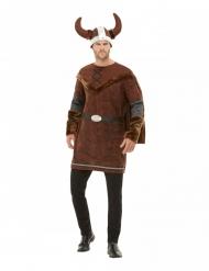 Disfraz vikingo bárbaro hombre