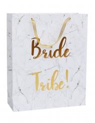 Bolsa de regalo mármol Bride Tribe 32 x 25 cm
