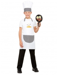 Kit cocinero blanco niño