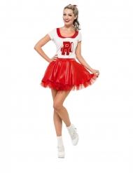 Disfraz Grease Cheerleader™ mujer