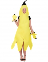 Disfraz de banana pelada mujer