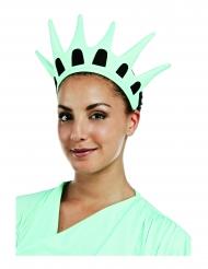 Corona Estatua de la Libertad tela adulto