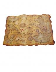 Mapa de pirata de plástico 29 x 45 cm