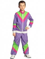 Disfraz jogging retro niño