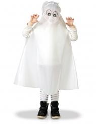 Poncho fantasma niño