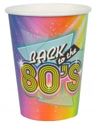 10 Vasos de cartón años 80