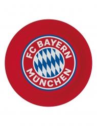 8 Platos de cartón FC Bayern Munich™ 23 cm