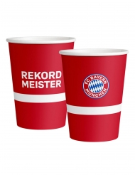 6 Vasos grandes de cartón FC Bayern Munich™ 500 ml
