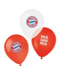 6 Globos de látex FC Bayern Munich™ 27 cm