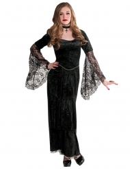 Disfraz vampiresa gótica adolescente